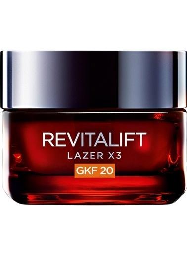 L'Oréal Paris Revitalift Lazer X3 Leke Ve Kırışıklık Karşıtı Bakım Gkf20 Renksiz